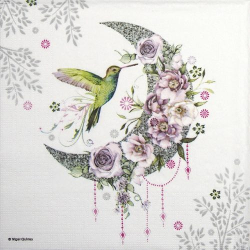 Lunch Napkins (20) - Nigel Quiney: Hummingbird Moon