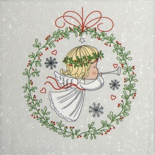 Paper Napkin - Angel Baby