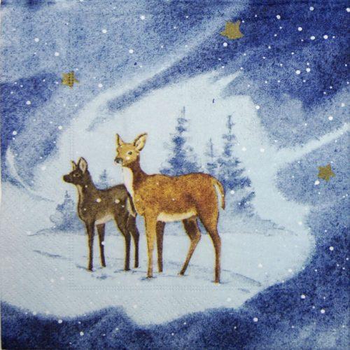 Paper Napkin - Blue Deers