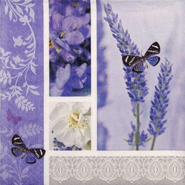 Paper Napkin - Dream of a Lavender