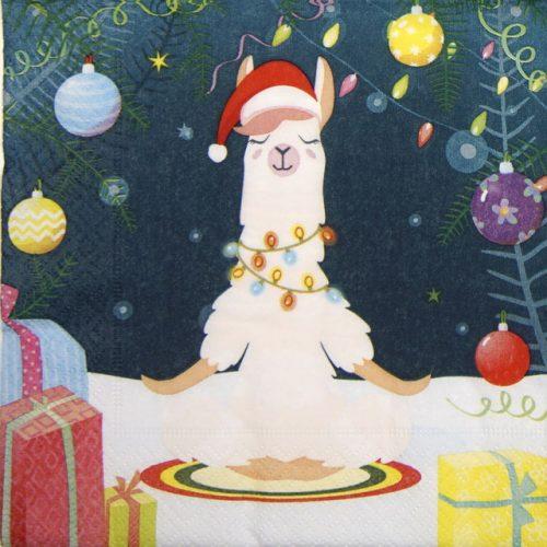 Paper Napkin - Yogic Lama