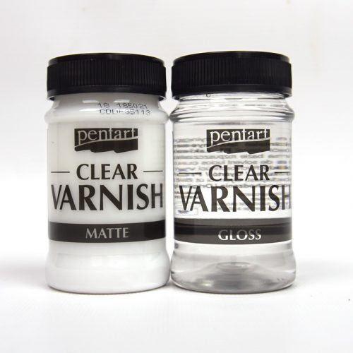 Pentart Solvent based Clear Varnish matte or gloss 100ml