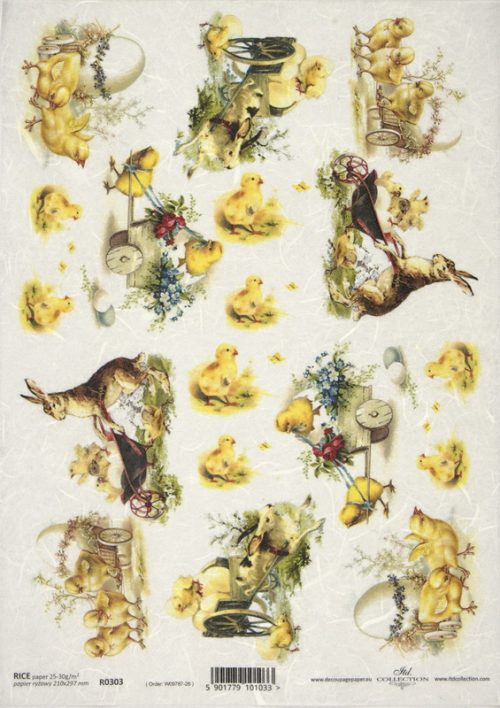 Rice Paper -  Easter Farm
