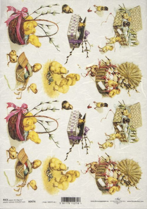 Rice Paper - Easter Friends