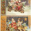 Rice Paper - Santa Automobile