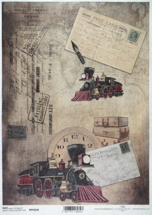 Rice Paper - Vintage Postcard