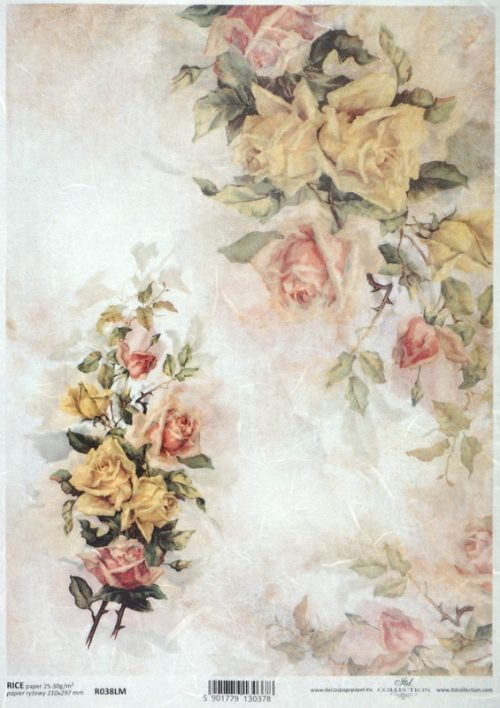 Rice Paper - Spring Bouquets