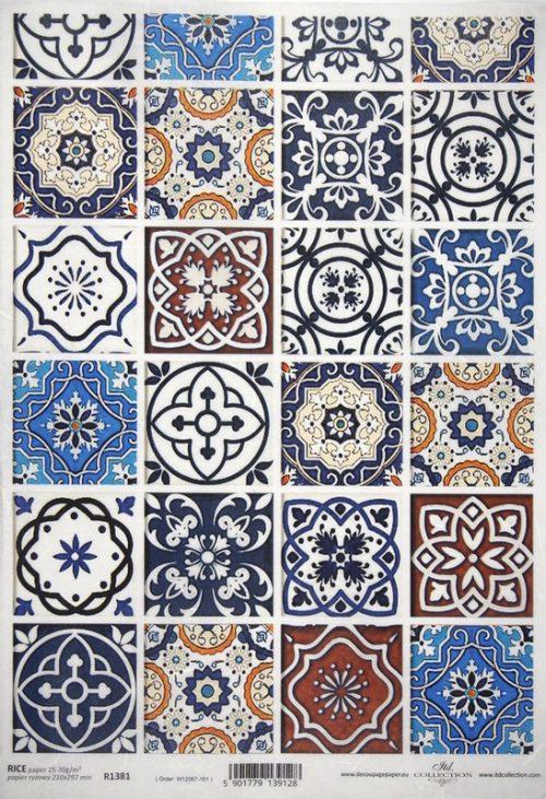 Rice Paper - Mosaic