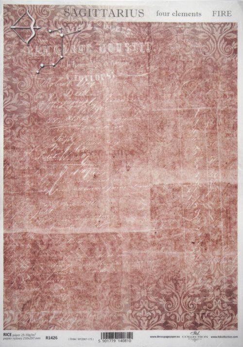 Rice Paper - Sagittarius