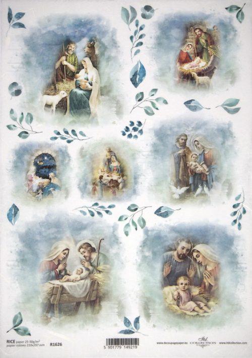 Rice Paper - Birth of Jesus