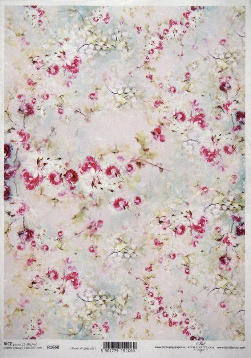 Rice Paper -  Spring Petals