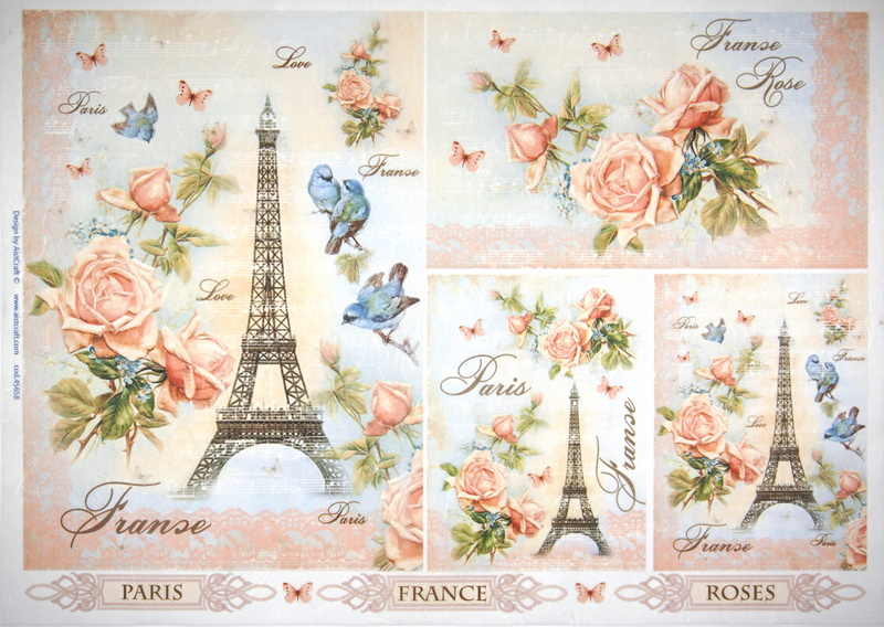Rice Paper - Parisian dream