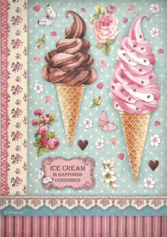 Rice Paper - Ice cream