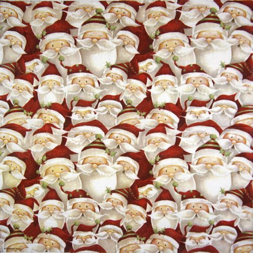 Lunch Napkins (20) -  Funny Santa