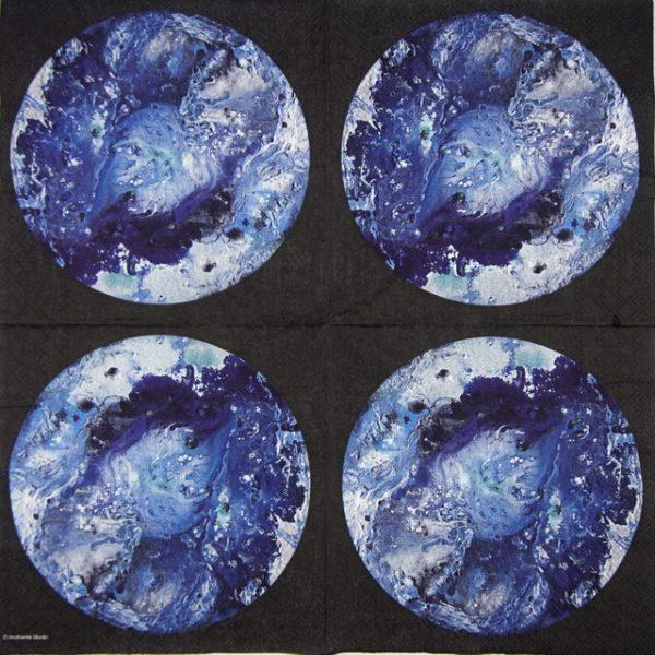 Paper Napkin - La Sorcas Blue
