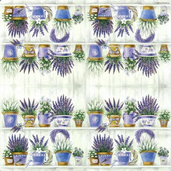 Lunch Napkins (20) - Lavender Range