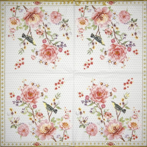 Lunch Napkins (20) - A Day in the Garden