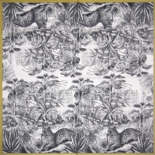 Lunch Napkins (20) - Retro Jungle