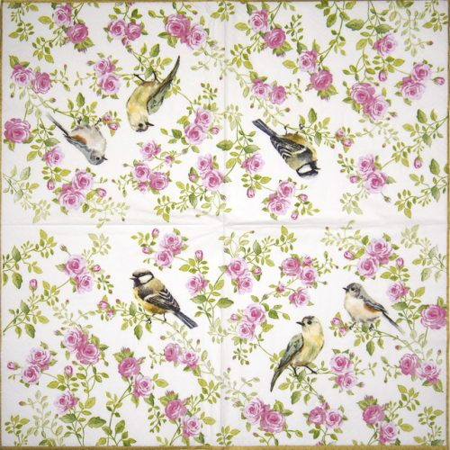 Lunch Napkins (20) - Spring Time