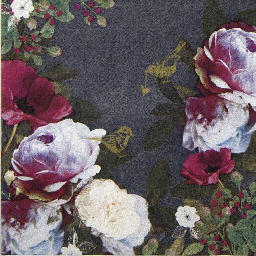 Paper Napkin - Opulent Flowers