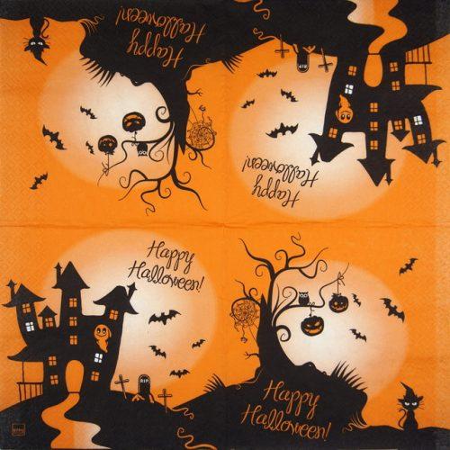 Paper Napkin - 2 in 1 Halloween