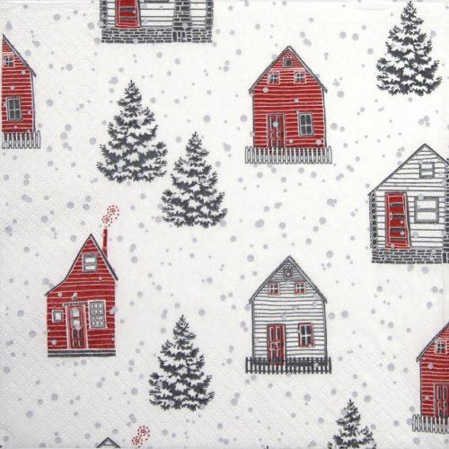 Paper Napkin - Röd Hus