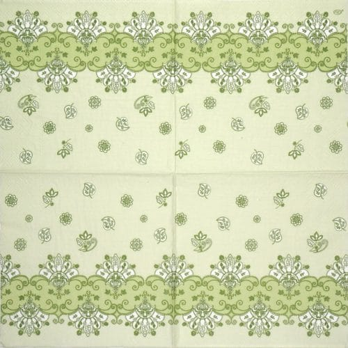 Paper Napkin - Acantha Celadon
