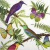 Lunch Napkins (20) - Tropical Birds