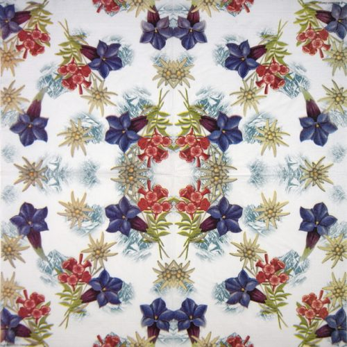Lunch Napkins (20) - Breitbach Design: Alpine Flowers