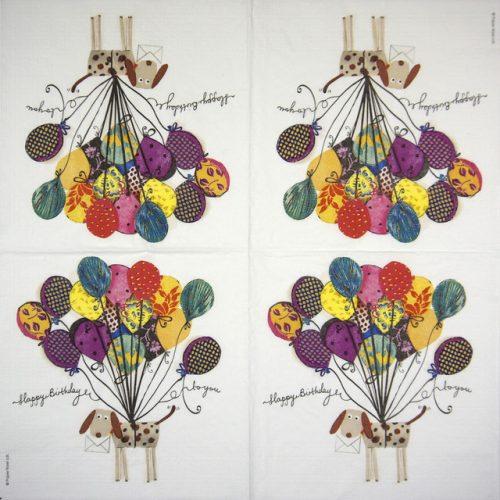 Paper Napkin - Paper Rose: Artisan Dog