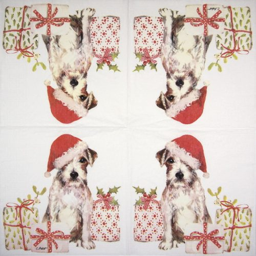 Lunch Napkins (20) - Carola Pabst: Christmas Pub