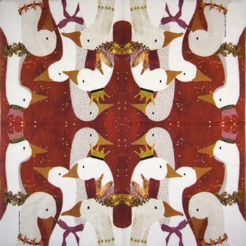 Paper Napkin - Carson Higham: Goose Show