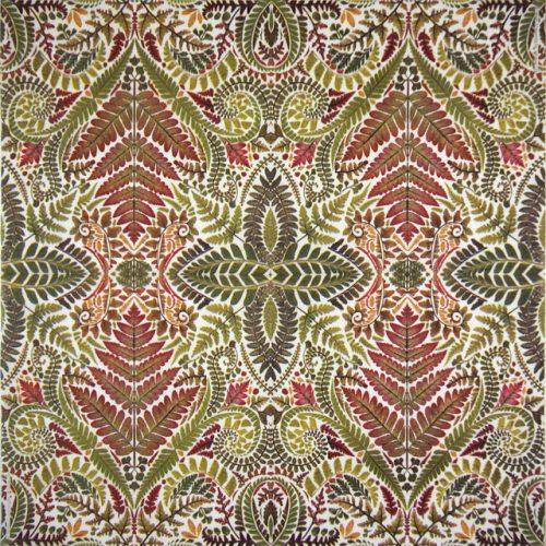 Paper Napkin - Helen Ahpornsiri: Green Leaves