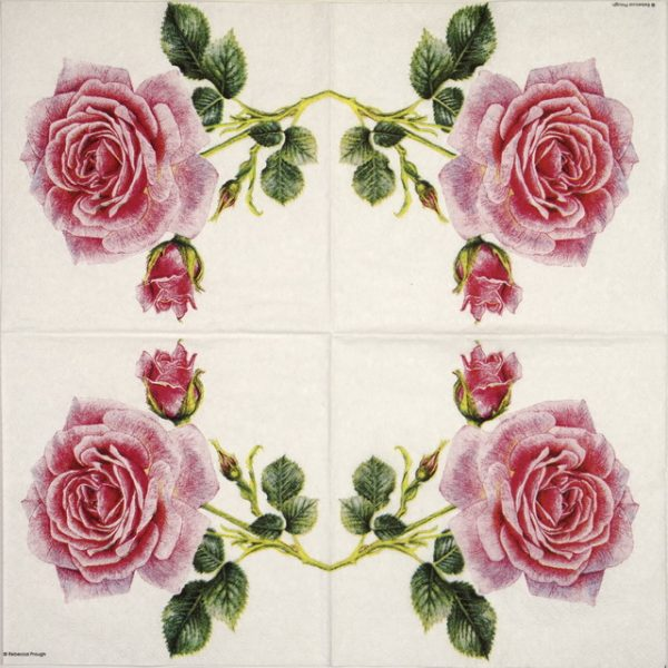Paper Napkin - Rebecca Prough: Rosedal
