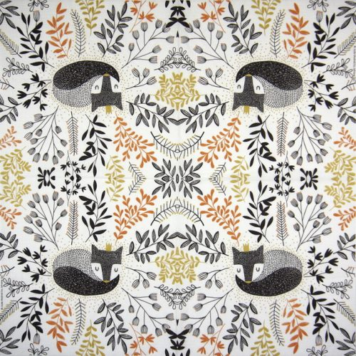 Paper Napkin - Jade Mosinski: Secret Fox