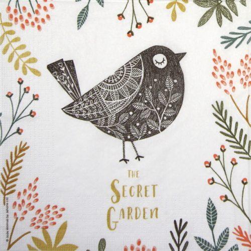 Paper Napkin - Jade Mosinski: Secret Garden