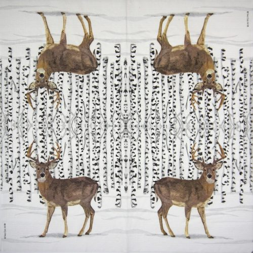 Paper Napkin -  Two Can Art: Wilderness Stag