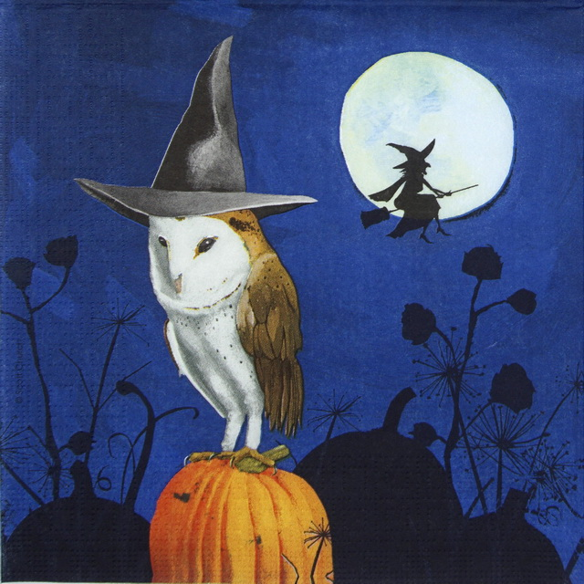 Lunch Napkins (20) - Scott Church: Wizard's Halloween