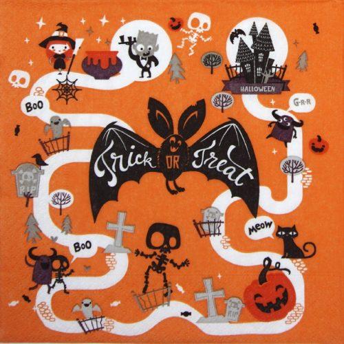 Paper Napkin -  Halloween Fun