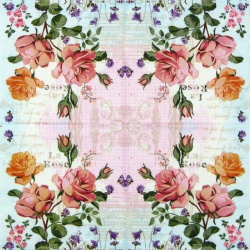 Lunch Napkins (20) - La Rose