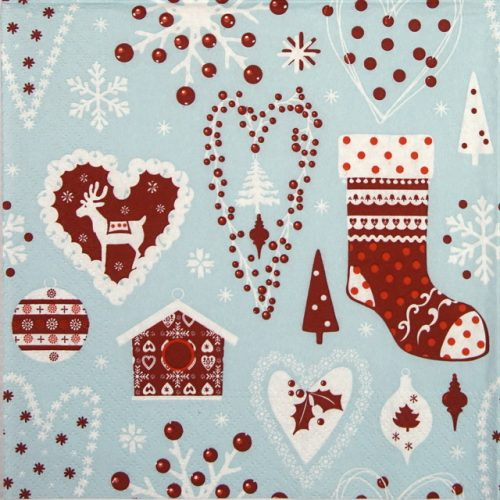 Paper Napkin - Miscellaneous blue