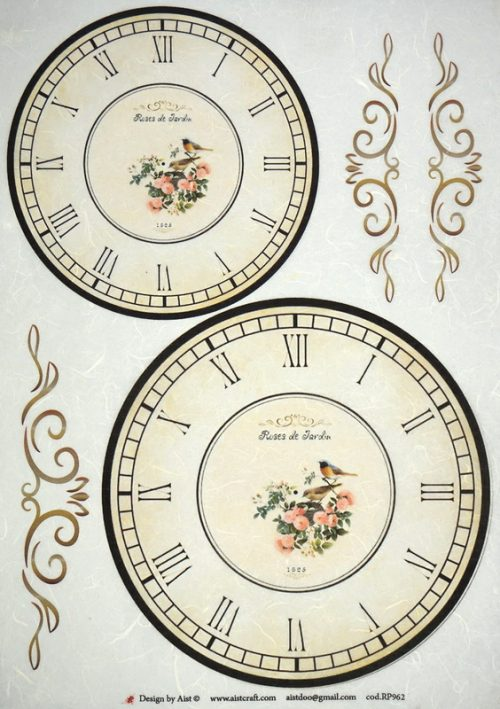 Rice Paper - Clocks