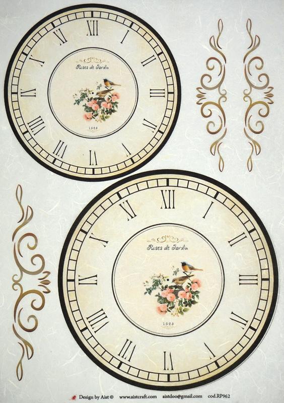 Rice Paper - Clocks