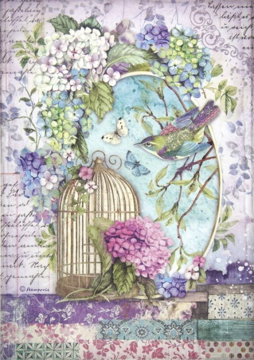 Rice Paper - Hortensia Cage