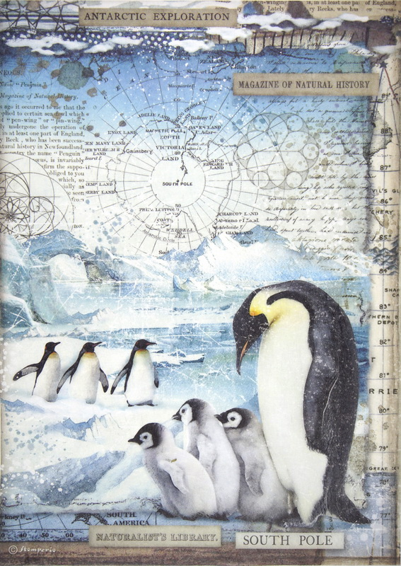 Rice Paper -  Penguins