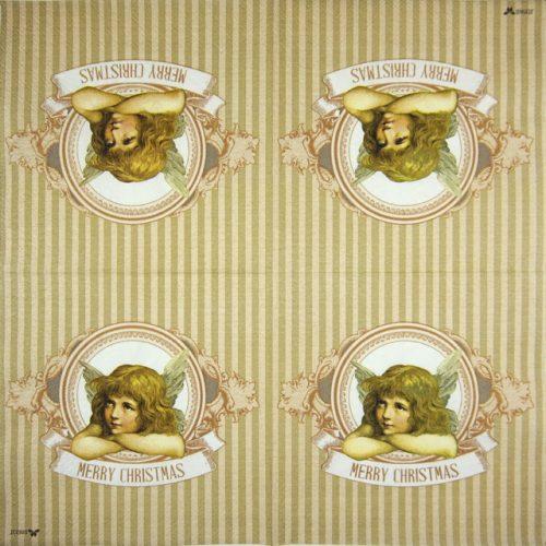 Paper Napkin - Edna beige