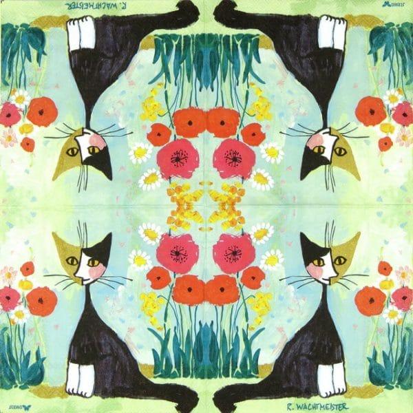 Lunch Napkins (20) - R.W.: My Garden