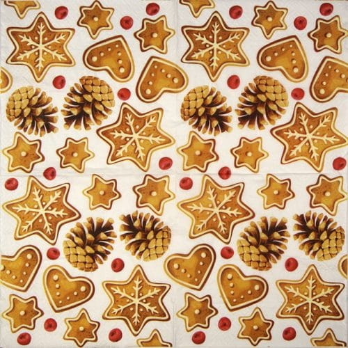 Paper Napkin - Gingerbread