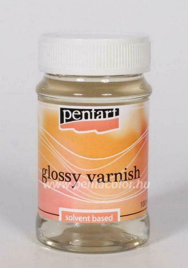 Pentart Decoupage Glossy Varnish Solvent Based 100ml