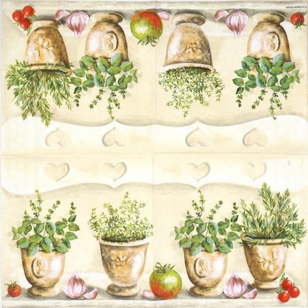 Lunch Napkins (20) - Herbs Kitchen
